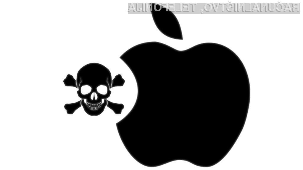 Računalniki Apple prav tako niso imuni na delovanje zlonamernih kod.
