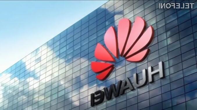 Huawei v prvem polletju ustvaril 57 milijard evrov prihodkov