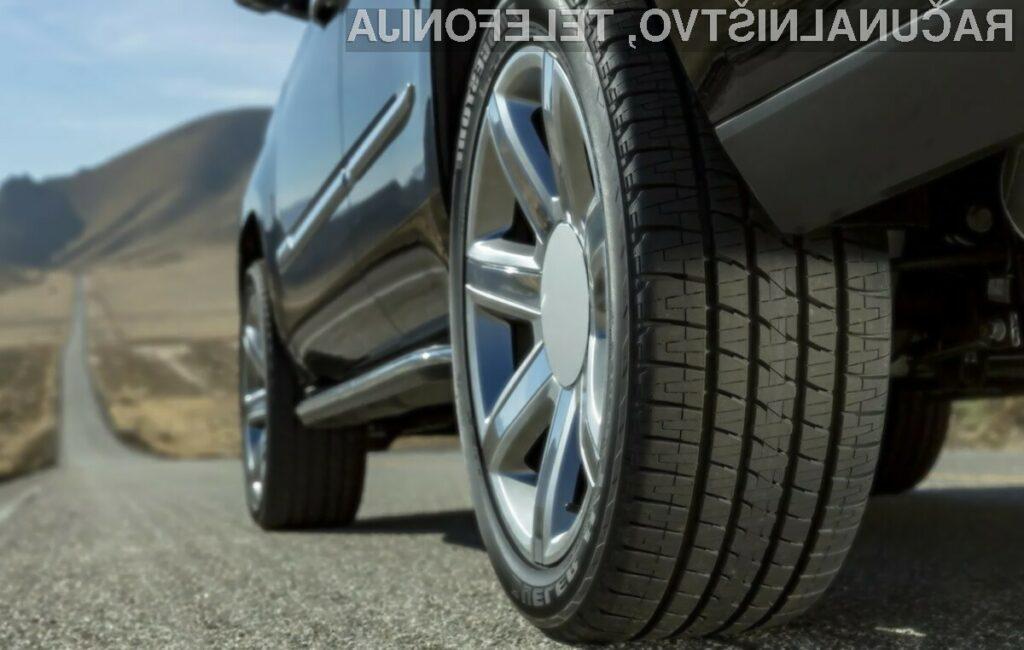 Napredni sistem za spremljanje stanja pnevmatik je sposoben spremljati pnevmatike v realnem času.