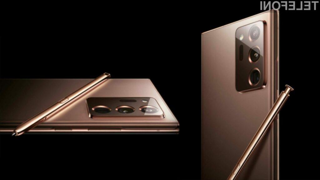 Predstavitev novega Samsung Galaxy Note 20 uradno potrjena za 5. avgust