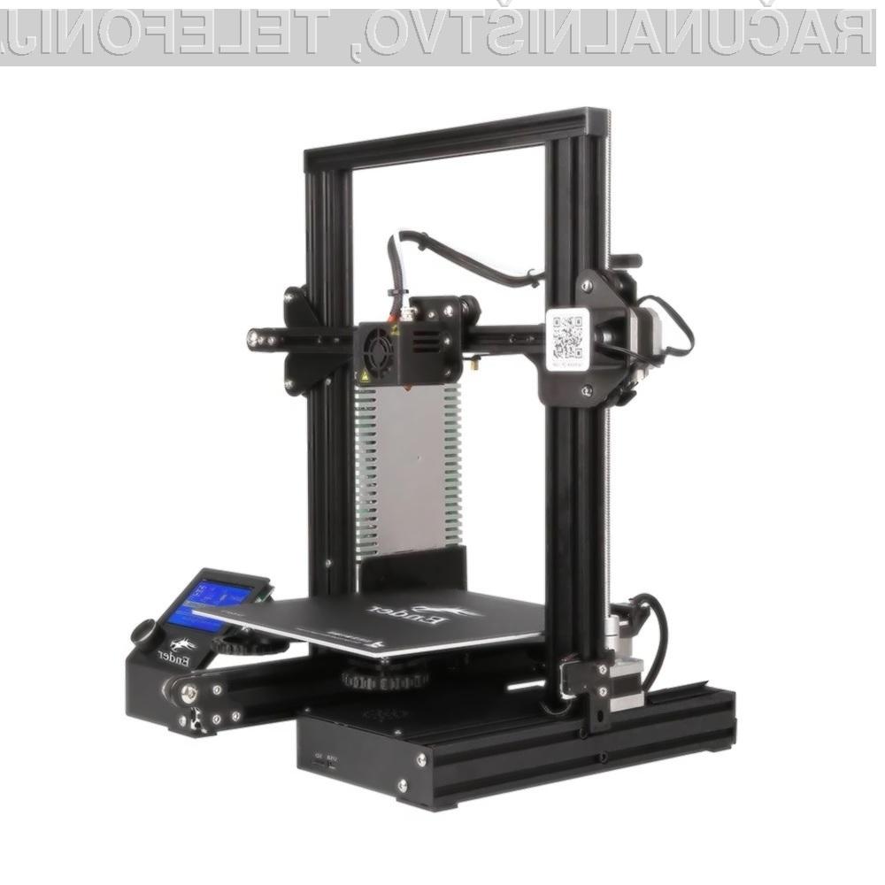 3D tiskalnik Creality 3D Ender-3 Pro vas zagotovo ne bo razočaral!