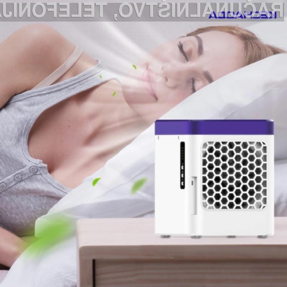 Poceni prenosna klimatska naprava KECHAODA S9 nam bo zagotovo prišla v poštev v vročih poletnih dneh.