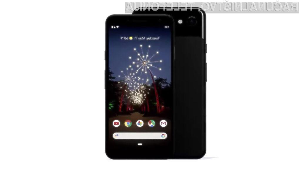 Google je ustavil prodajo pametnih mobilnih telefonov družin Pixel 3A in Pixel 3A XL v ZDA.