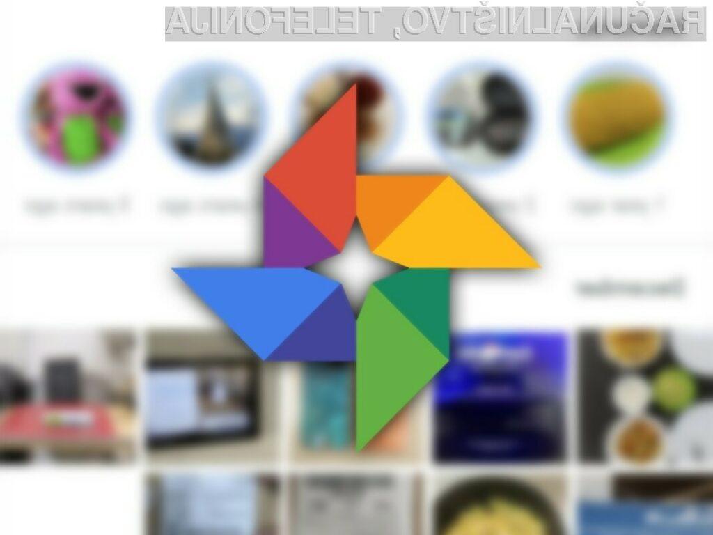 Google Foto bo brezplačen le še do 1. junija leta 2021.