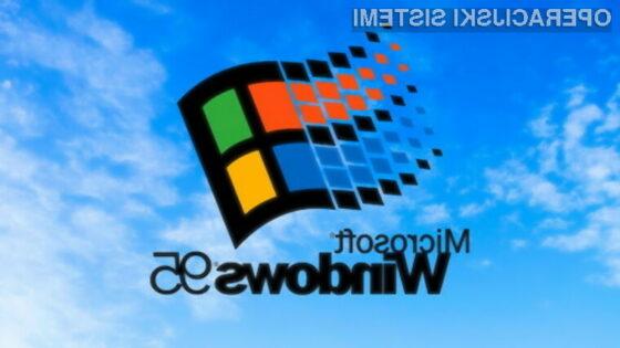 Windows 95 praznuje 25. rojstni dan