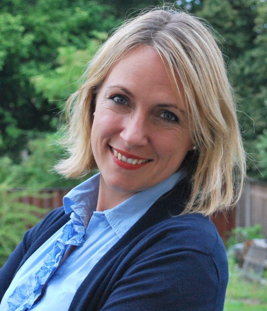 Direktorica Digitalnega inovacijskega stičišča Slovenije Katja Mohar Bastar.