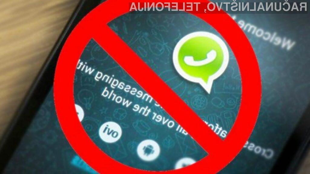 WhatsApp kmalu ne bomo več mogli uporabljati na mobilnih napravah Android 4.1 ali starejših.