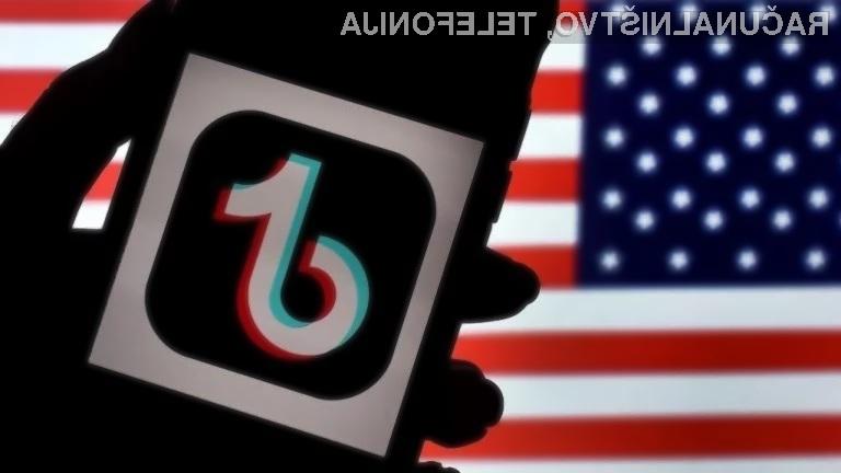 O usodi omrežja TikTok v ZDA bo odločalo ameriško sodišče!