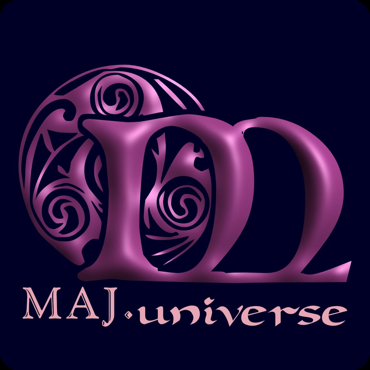 Maj.Universe_logotip