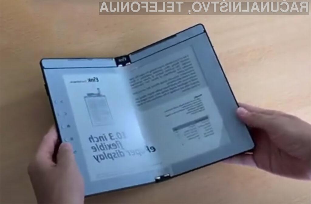 Prepogljivi elektronski papirji bi lahko kmalu postali del našega vsakdana.