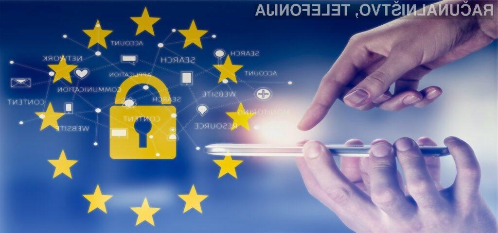 Priprava spletnega mesta v skladu z določbami GDPR