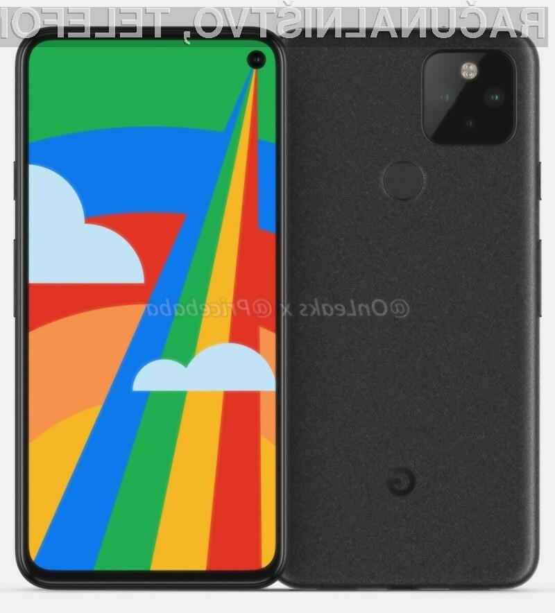 Tako naj bi izgledal novi Google Pixel 5!