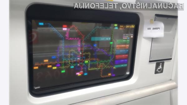Prozorni zasloni OLED bodo razvajali potnike na vlakih.
