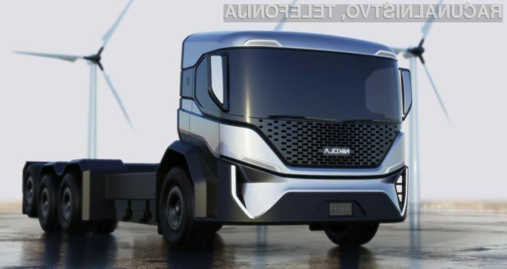 Tudi tovornjaki za prevoz smeti bodo kmalu postali ekološki.