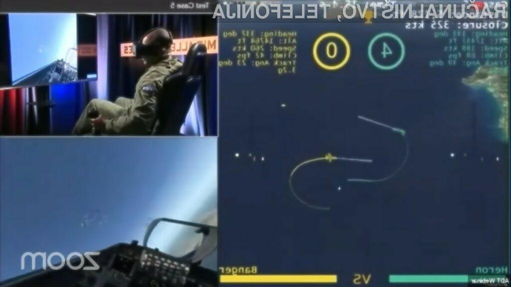 Umetna inteligenca bi lahko bila prav kmalu uporabljena za samostojno upravljanje vojaških letal.