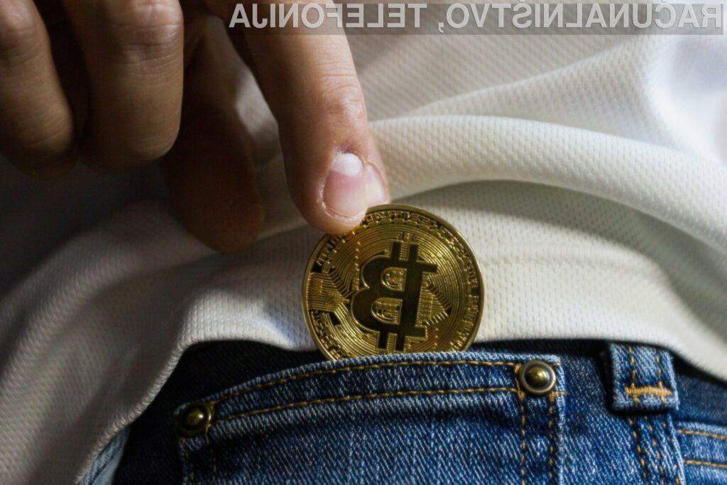 Vrednost Bitcoina se je v zadnjem času močno povzpela.