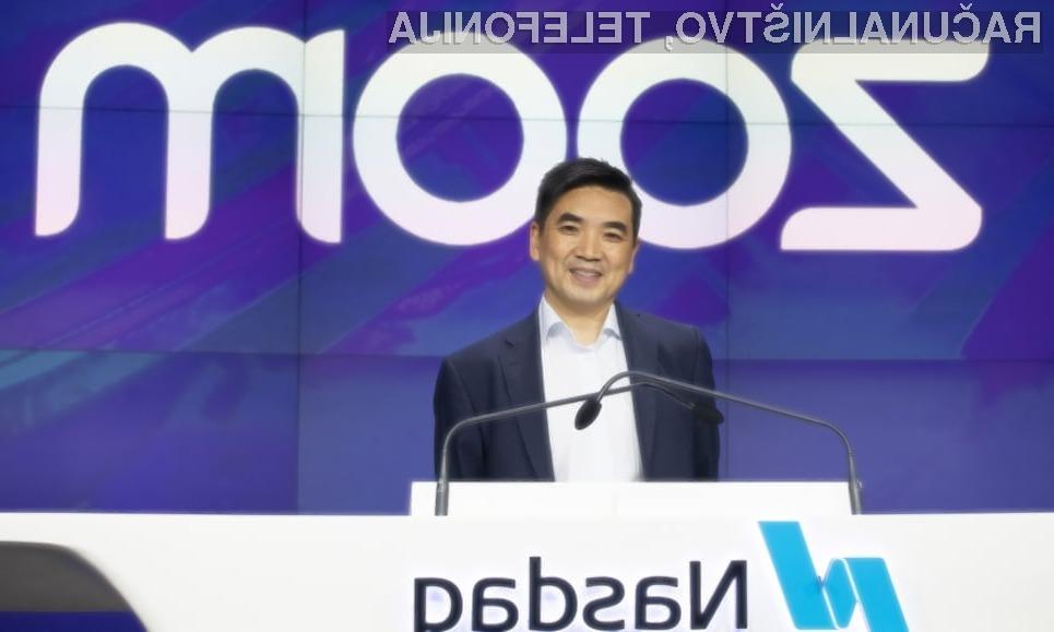 Zoom raste in prehiteva tehnološke velikane