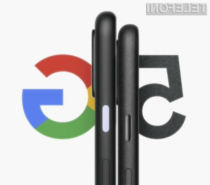 Za novi Google Pixel 5 naj bi bilo treba odšteti zgolj 499 evrov.