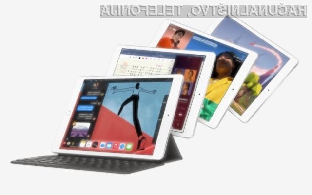 Novi Apple iPad z zmogljivejšim procesorjem!