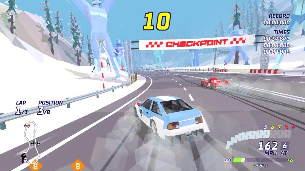 Recenzija: Hotshot Racing - vrnitev v devetdeseta