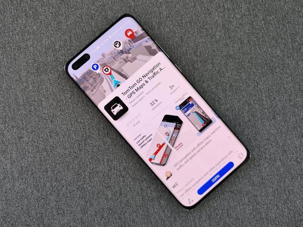 Vrhunska aplikacija za navigacijo TomTom GO v trgovini AppGallery