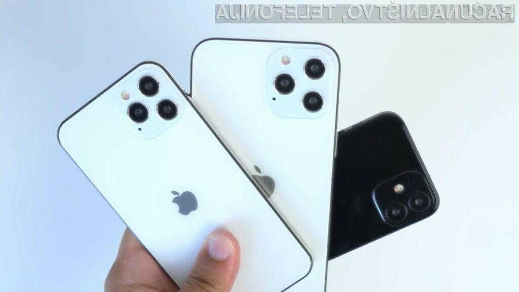 Apple iPhone 12 mini naj bi imel zaslon z zgolj 13,7-centimetrsko oziroma 5,4-palčno diagonalo.