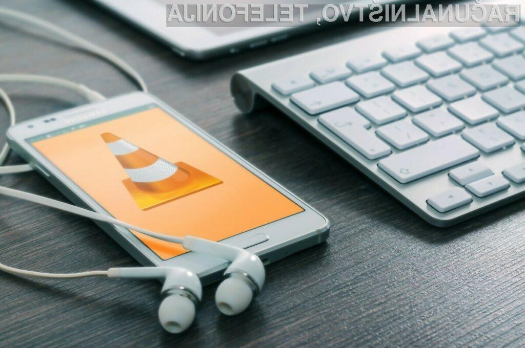 Večpredstavnostni predvajalnik VideoLAN Client je eden najboljših za mobilne naprave!