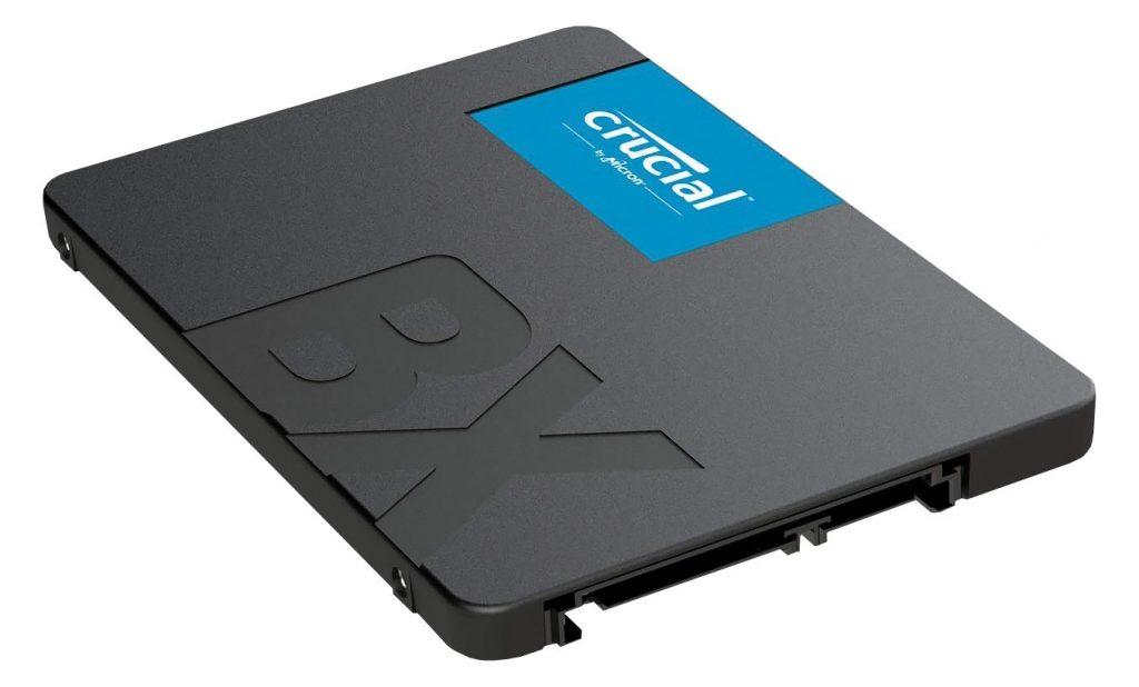 CRUCIAL BX serija SSD diskov nudi visoko zmogljivost za zmerno ceno.