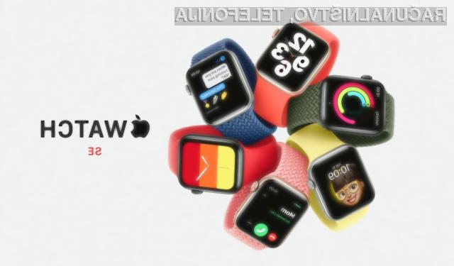 Pametna ročna ura Apple Watch SE za relativno malo denarja ponuja veliko.