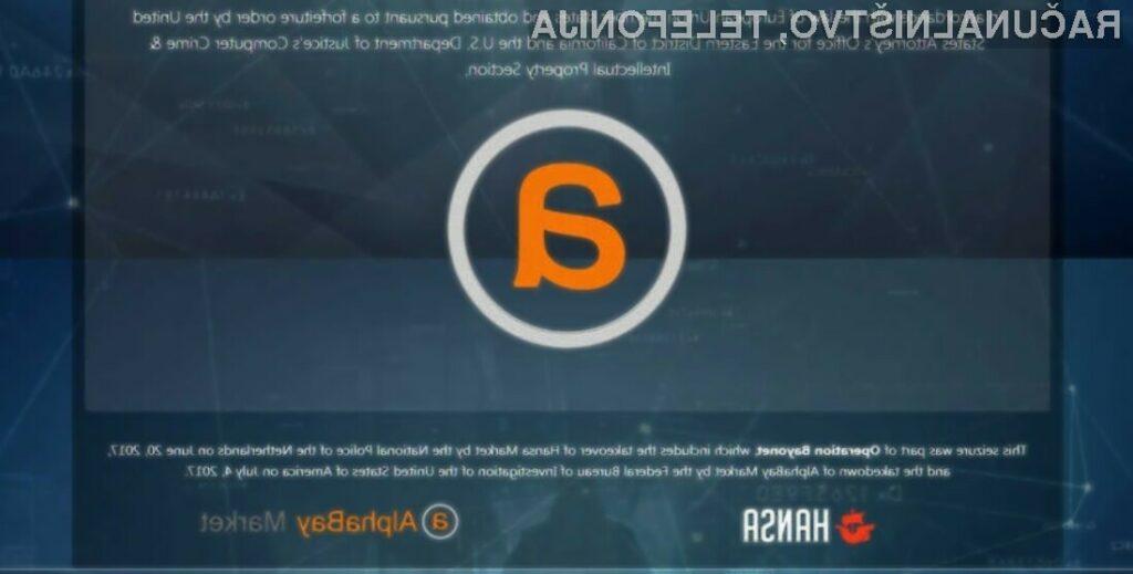 Upravljavec spletne strani Alphabay prejel 11 let zapora