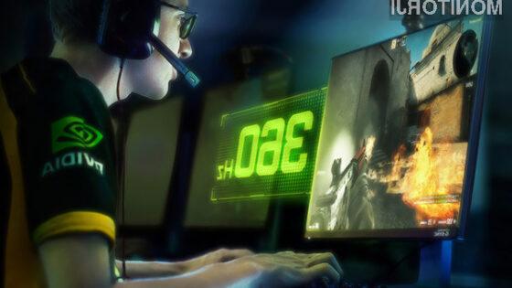 Zaslon MSI Oculux NXG253R nas bo razveseljeval s frekvenco osveževanja 360 sličic na sekundo.