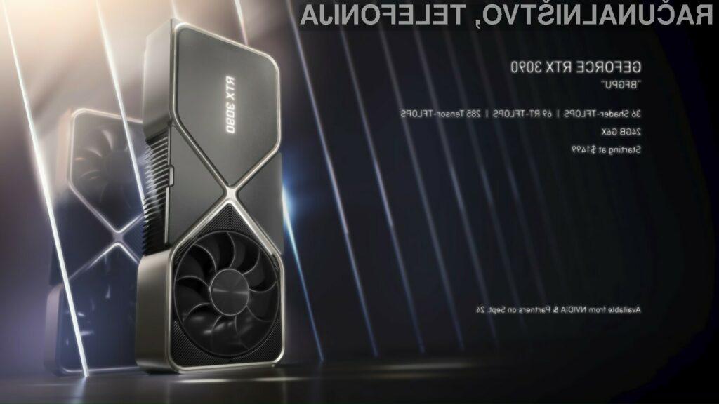 Grafične kartice Nvidia GeForce so postale še zmogljivejše!