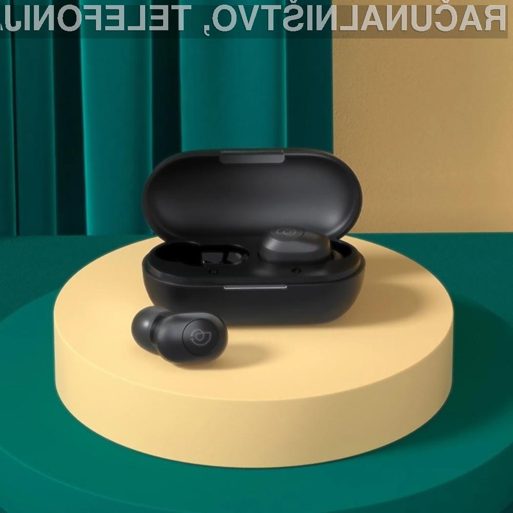 Brezžične ušesne slušalke Haylou GT2S so lahko naše že za manj kot 17 evrov.