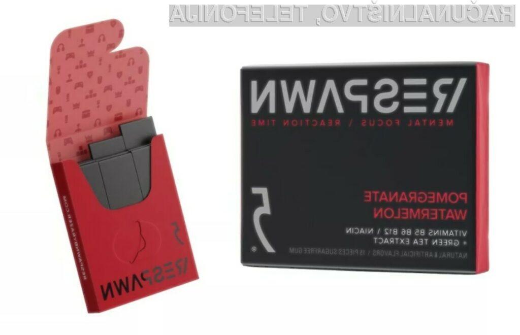 Žvečilni gumiji Razer Respawn by 5 Gum naj bi pripomogli k boljšim igralnim rezultatom.