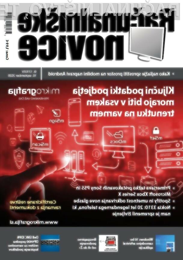Nova številka revije: Ključni podatki podjetja morajo biti v vsakem trenutku na varnem