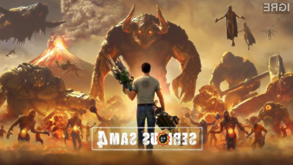 Serious Sam 4 prihaja konec meseca na PC in Google Stadio.