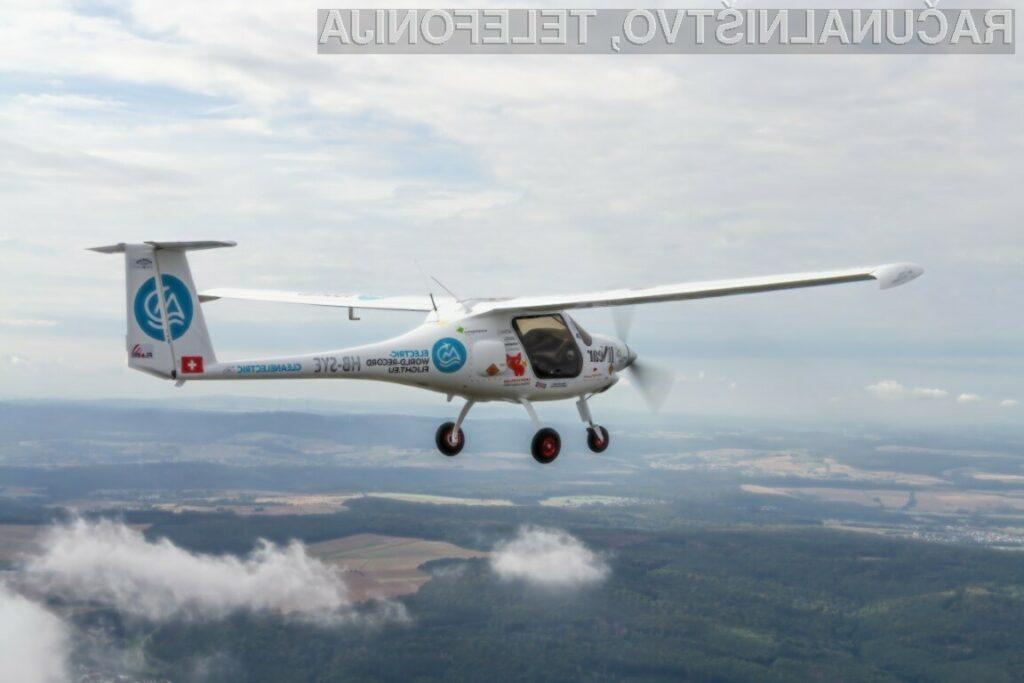 Slovensko električno letalo Pipistrel Velis Electro trenutno nima konkurence!