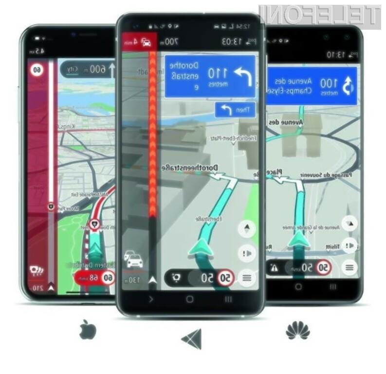 Navigacijski sistem TomTom Go je odslčej na voljo tudi za mobilne naprave Huawei brez trgovine Google.