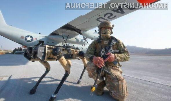 Ameriška vojska je navdušena nad robotskimi psi Ghost Robotics Vision 60 UGV.
