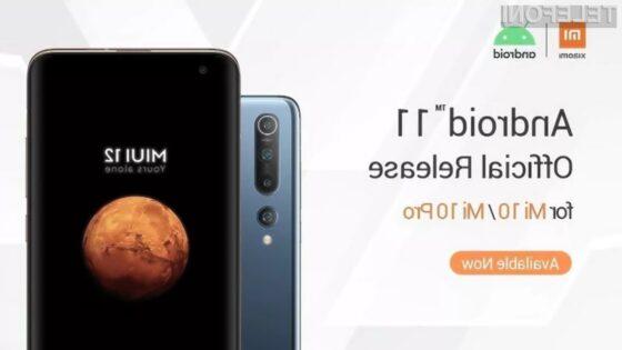 Telefona Xiaomi Mi 10 in Xiaomi Mi 10 Pro sta že pripravljena na novi Android 11!