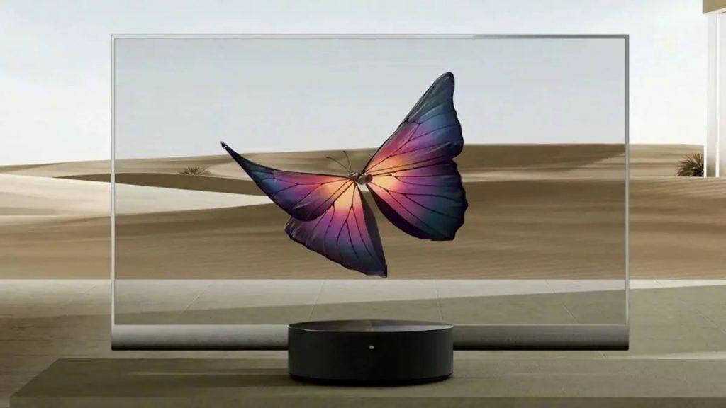 Inovativni pametni televizor Xiaomi Mi TV LUX Transparent Edition je pravi posebnež.