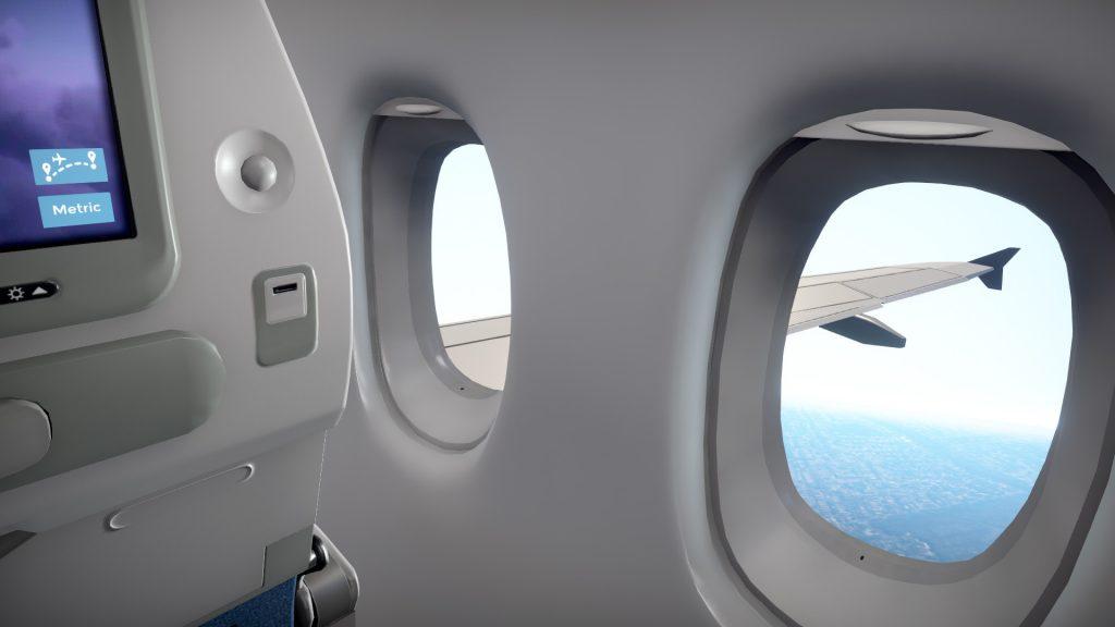 Simulacija potnika na letalu? Zakaj pa ne, pravijo pri Bacronym in AMC.