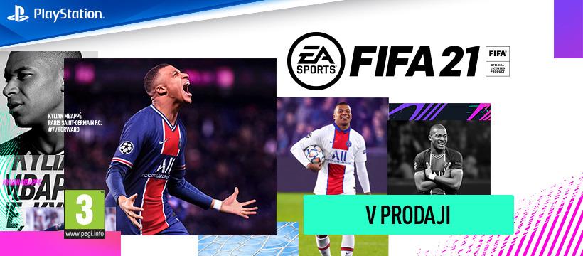 FIFA 21 - najnovejši del priljubljene nogometne igre