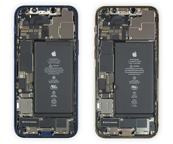 Pametna mobilna telefona iPhone 12 in iPhone 12 Pro sta si od 10 možnih točk na račun popravljivosti prislužila kar šest točk.