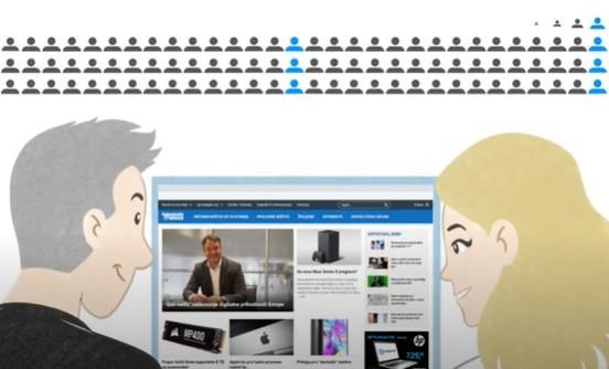 Video, s katerim vam prikažemo, kako lahko poskrbimo za promocijo vašega podjetja