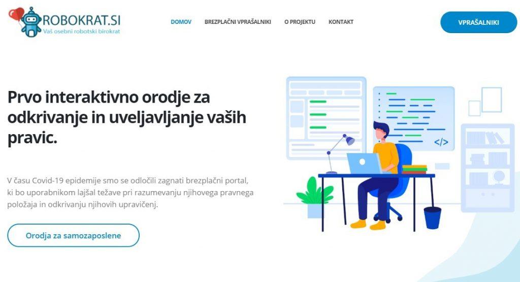 Brezplačni portal www.robokrat.si