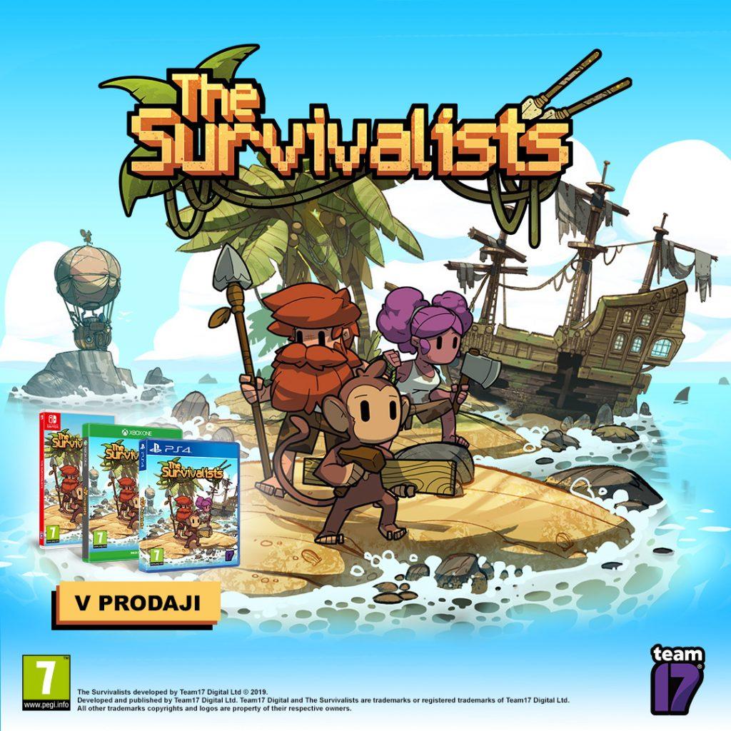 The Survivalists - umirjena in meditativna igra s poudarkom na craftanju ter raziskovanju