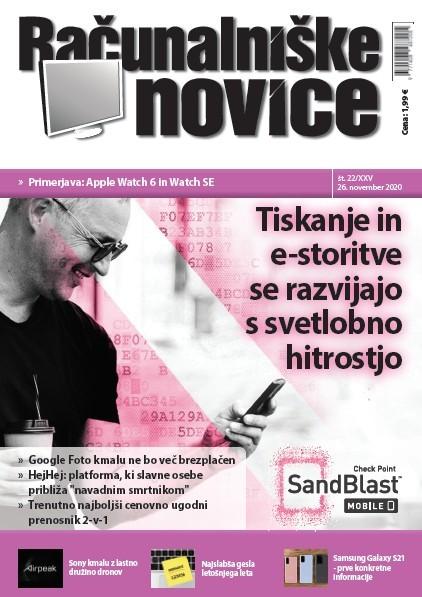Nova številka revije: Tiskanje in e-storitve se razvijajo s svetlobno hitrostjo