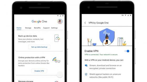 Google s svojim VPNjem