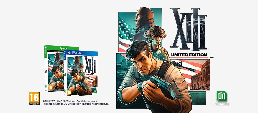 XIII Remastered - Limited Edition: prvoosebna streljanka, ki temelji na istoimenskem stripu